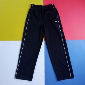 Junior Puma Black Sweatpants